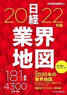 「日経業界地図  2022年版」にサイフューズが掲載されました。
